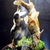 《夏献立・一例》 人気の1品 焼き物 岩魚の幽庵焼き