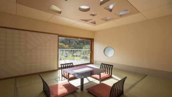 心癒される日本庭園側和室【8畳〜12畳】