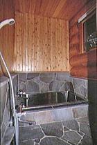 鉄平石張りのお風呂