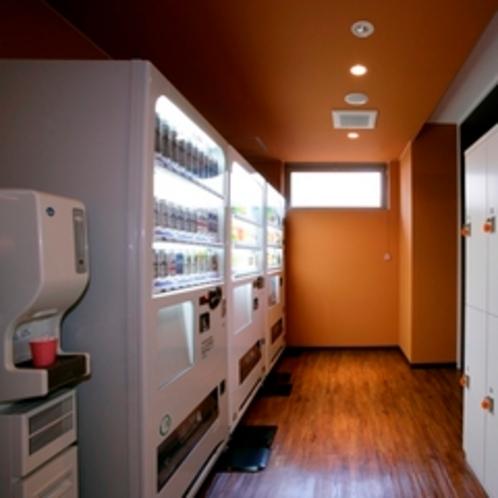 2階自動販売機コーナー