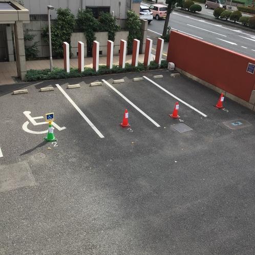 敷地内駐車場 屋外