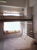 個室 2名用 2段ベッド