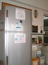 共同冷蔵庫 各フロアにあります