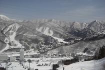 スキーシーズン風景