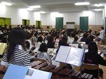 音楽ホール(100畳+パート練10畳×2)