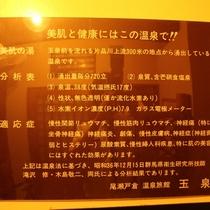 風呂_温泉成分表