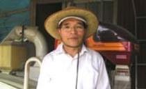 契約農家の塚田武さん(お米)