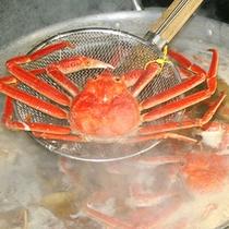 釜ゆで1杯蟹
