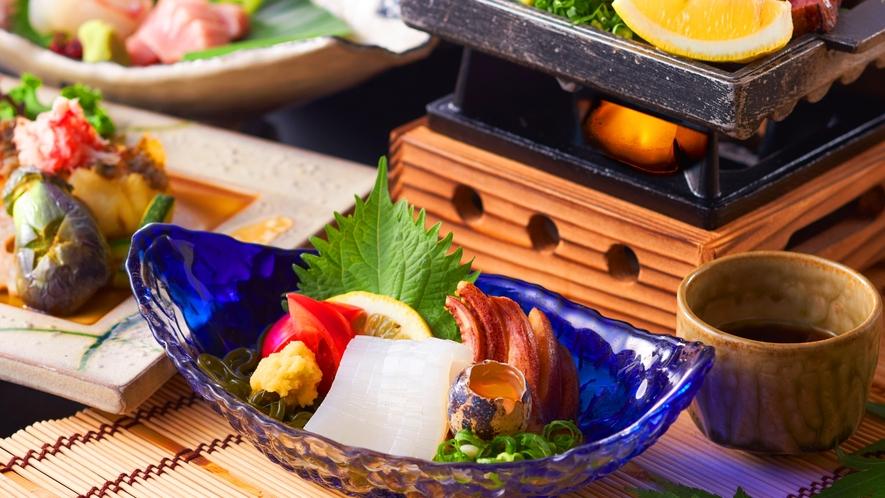 鳥取の夏、最強グルメ白いかは是非お召し上がり頂きたい逸品。