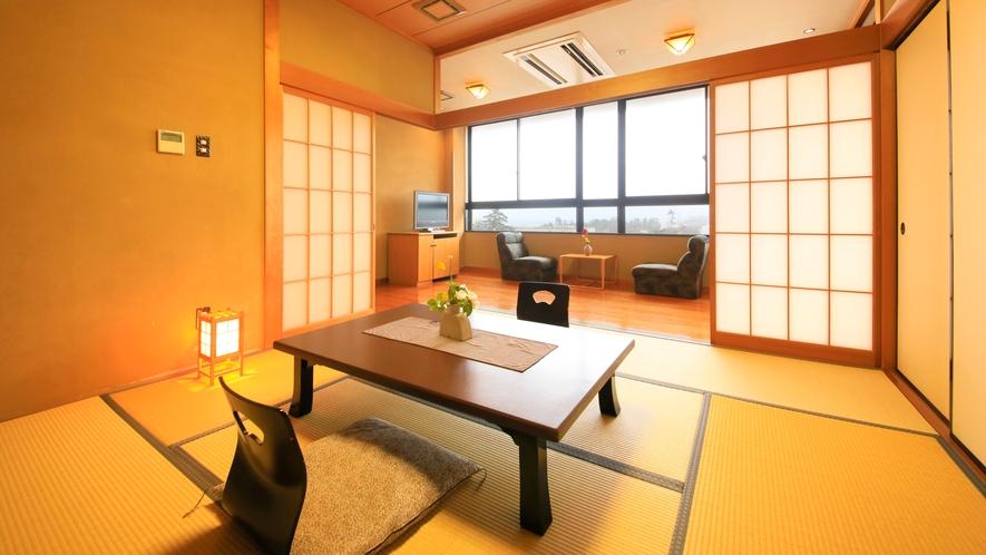 【スタンダード】和室/40~48.52平米~寛ぎの広縁スペース付和室~