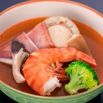 日本海会席【温  物】 海鮮玉蒸しブイヤベース仕立