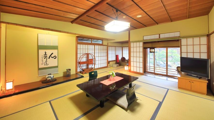 【天然泉露天風呂付き】特別和室/48~61平米 ~数寄屋造りの離れです。