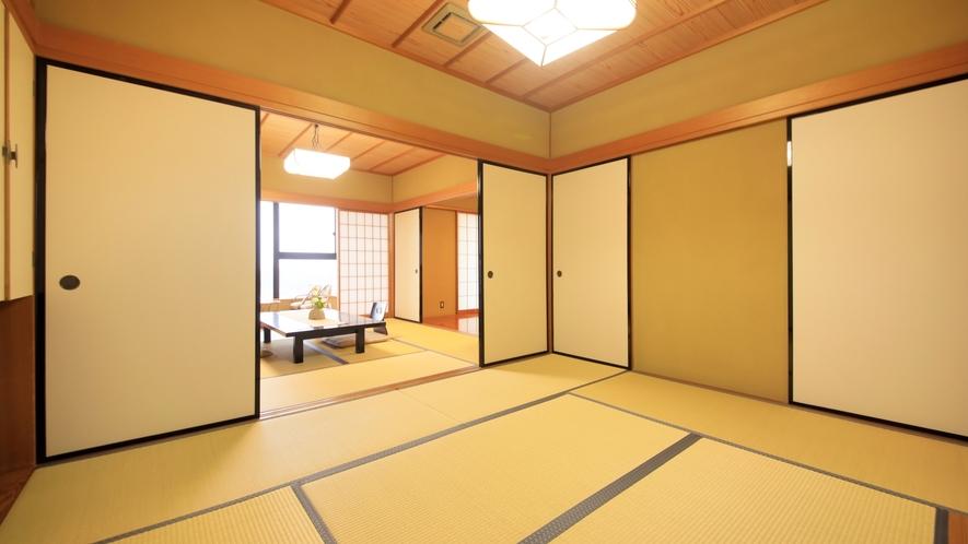 【デラックス】次の間付きの和室/62.5~81平米 ~和室一例。