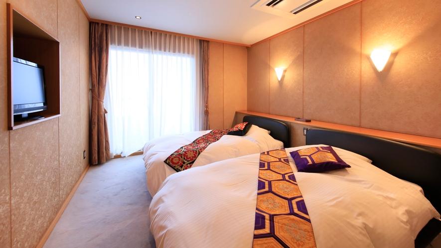 【最上級スイート】特別貴賓室/98.9平米 ~独立したベッドルーム。