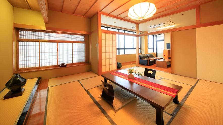 【最上級スイート】特別貴賓室/98.9平米 ~当館に一室しかない特別なお部屋。