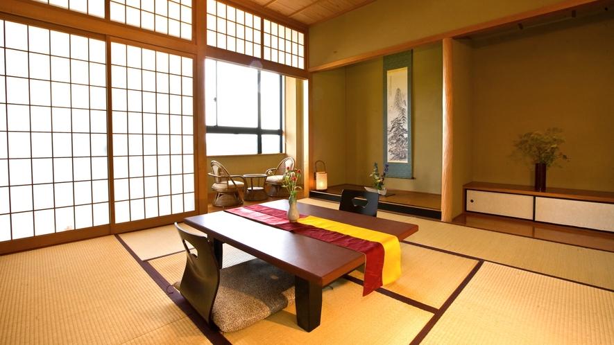 【スタンダード】和室/40~48.52平米~広縁スペース付和室。