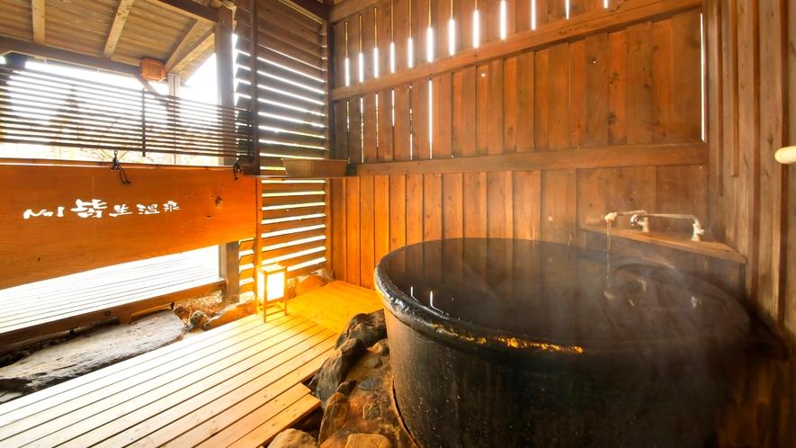 【天然泉露天風呂付き】特別和室/48~61平米 ~情緒溢れる露天風呂でいつでも温泉をひとり占め。