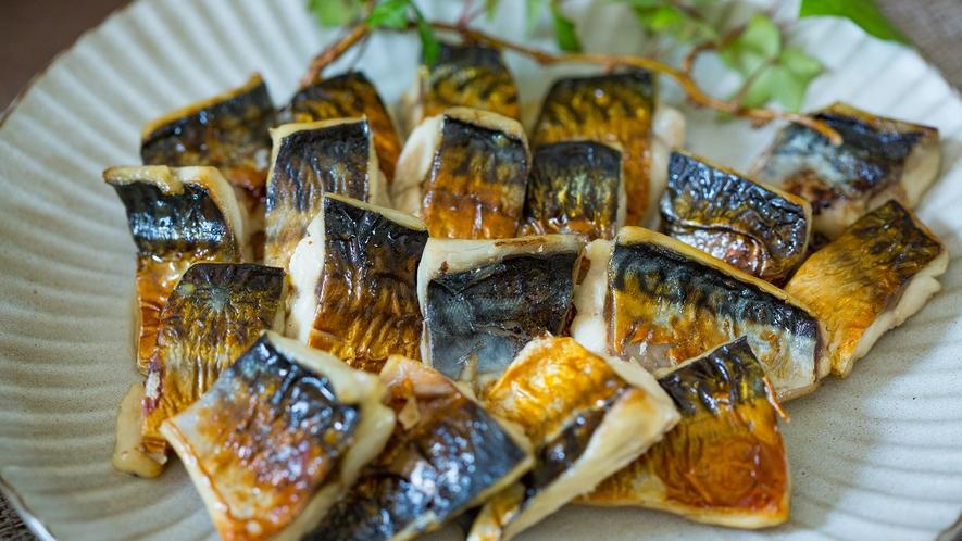 【朝食メニュー】サバの塩焼き