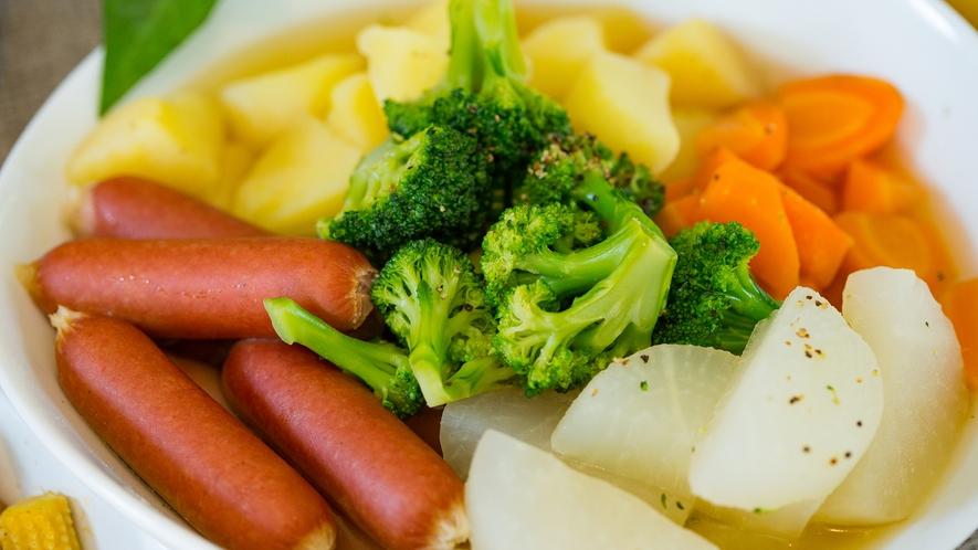 【朝食メニュー】野菜たっぷりポトフ