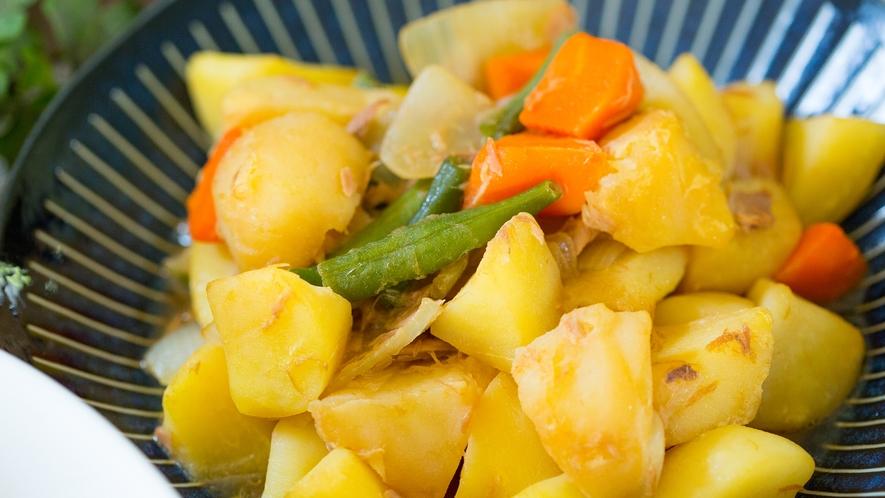 【朝食メニュー】ツナとジャガイモの肉じゃが風