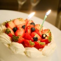 お祝いケーキ承ります!(画像はイメージです)