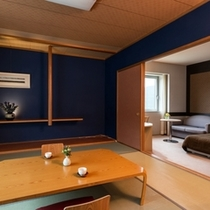 【和洋室】落ち着いた和の空間と、機能的な洋室、2つのスタイルが楽しめる人気のお部屋