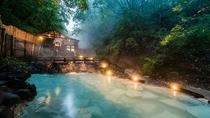 人気の蔵王大露天風呂が期間限定で夜間営業!星空の下で「美人づくりの湯」を満喫
