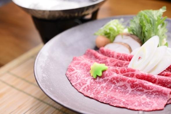 【3大和牛の一つ 旨みたっぷり松阪牛付プラン】味覚満載の懐石料理に松阪牛のしゃぶしゃぶを付けたプラン
