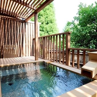 箱根外輪山を望む露天風呂付和室「京」(60平米)