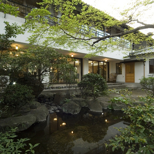 美しい日本庭園に囲まれた癒しの郷GI
