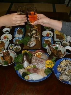 楽々宿泊プラン♪【スタンダード】新鮮鯛の姿造り・天ぷら・煮付け・秘伝の特製南蛮漬けなど☆お子様歓迎☆