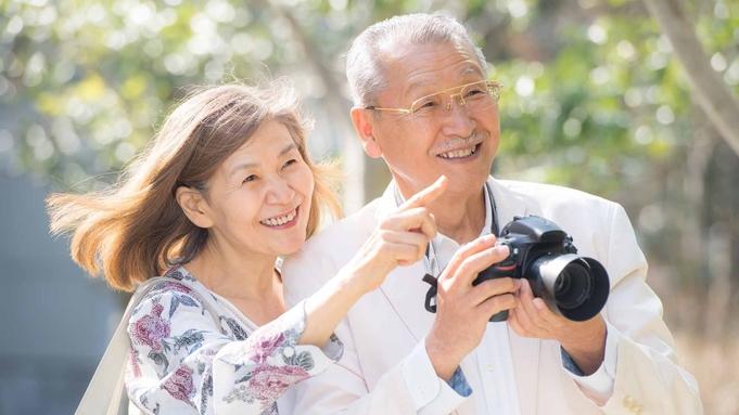 【朝/夕お部屋食】50歳以上限定 大人ののんびり温泉旅【2大特典付】<家族風呂無料>