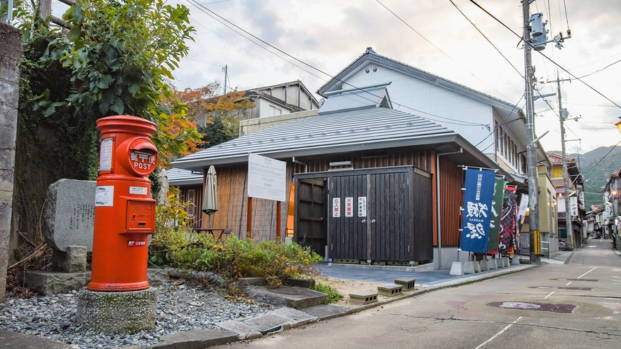 *【周辺:俵山温泉街】未だ街には、昭和の香り残っています。