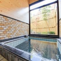 *【内湯温泉(小)】家族風呂で温泉を満喫!