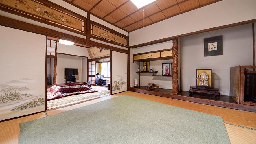 *【2階離れ・光陽】日当たりの良い和室8畳2間。