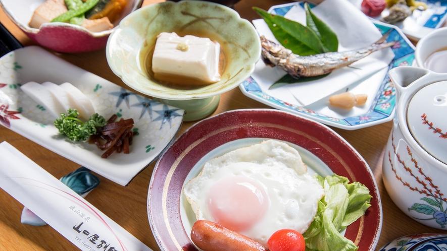 *【朝食・一例】エネルギーチャージを!