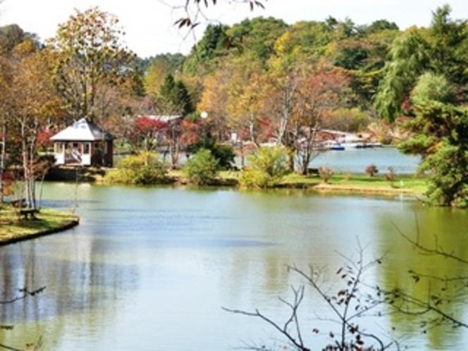 秋の塩沢湖