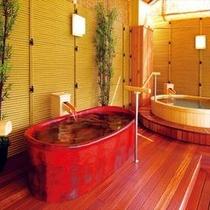 【湯めみの庭】つぼ風呂