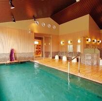 【湯めみの庭】内風呂 紫水晶風呂