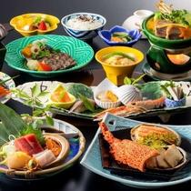 旬の香にのせて海の幸・里の幸が豪華に彩る季の膳(写真はイメージ)