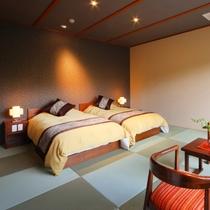 別邸和洋室(10畳&ツインベッド)