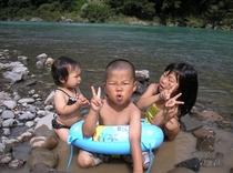 日高川川遊び1