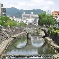 周辺情報◇長崎めがね橋◇有名なのはこちらかも!?