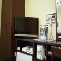 客室テレビ◇お部屋のテレビは26インチの大画面