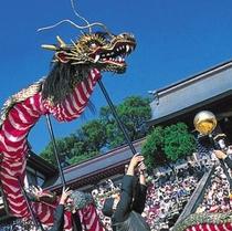 イベント◇長崎くんち◇旧暦の9月9日(くんち)が名前の由来?