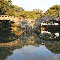 周辺情報◇メガネ橋◇石橋で日本最初の重要文化財