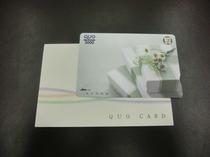 QUOカード 3000円 フロント販売