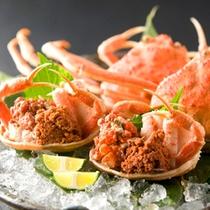 【お料理】香箱蟹(一例)