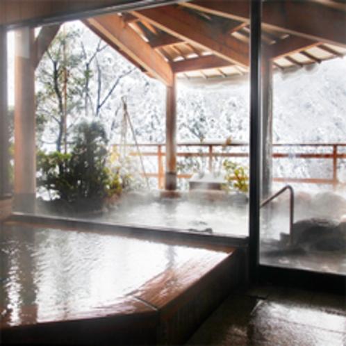 北陸随一の眺望を誇る展望露天風呂「ひらひら」