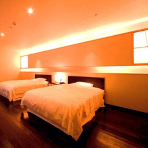 【特別室】約171平米のゆとりの広さ(夏の1)寝室